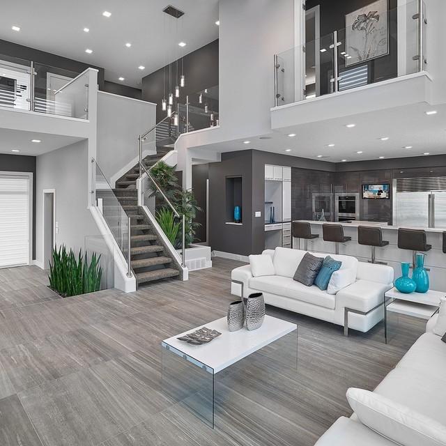 Vicky\'s Homes – Vittorio contemporary living room edmo ...