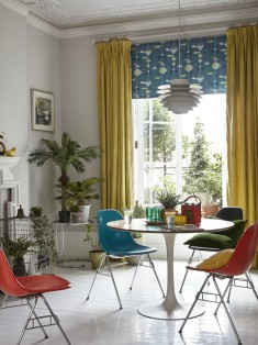 Midcentury Dining Room London