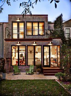 White Cedar Shingles Modern House San Francisco