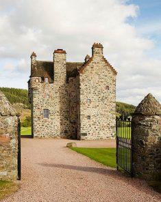 Modern Vintage Stone Castle in Scotland