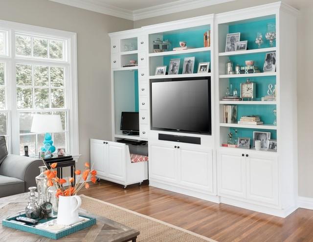 traditional minimalist living room interiors