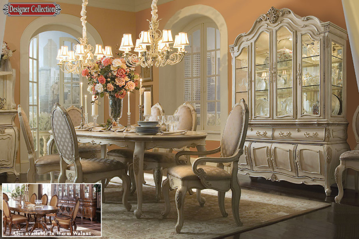 Victorian Style Pearl Dining Room
