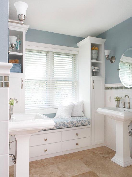 small closet renovation ideas - Amazing Bathroom Renovations that will Inspire You