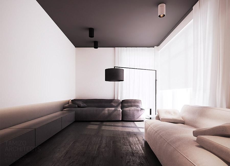 10. Black and White Interior Design