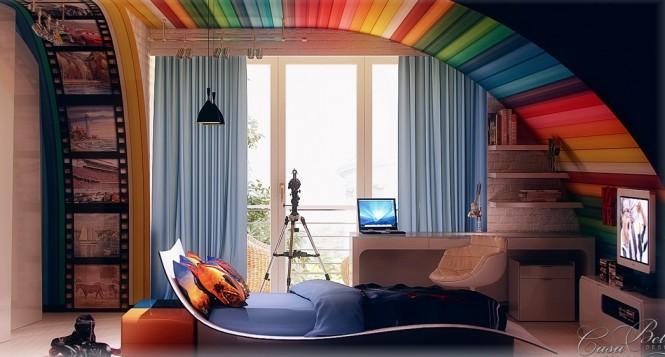 Cool Teenage Bedroom Ideas for Boys on Teenage Girl:pbu1881B-Jc= Cool Bedroom Ideas  id=31219