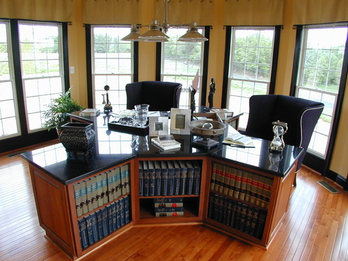 Goshen Ridge Traditional Home Office