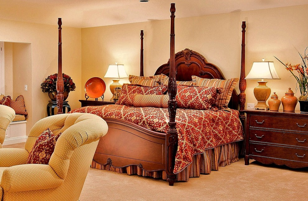 traditional bedroom ideas bedspreads for four poster beds 13568