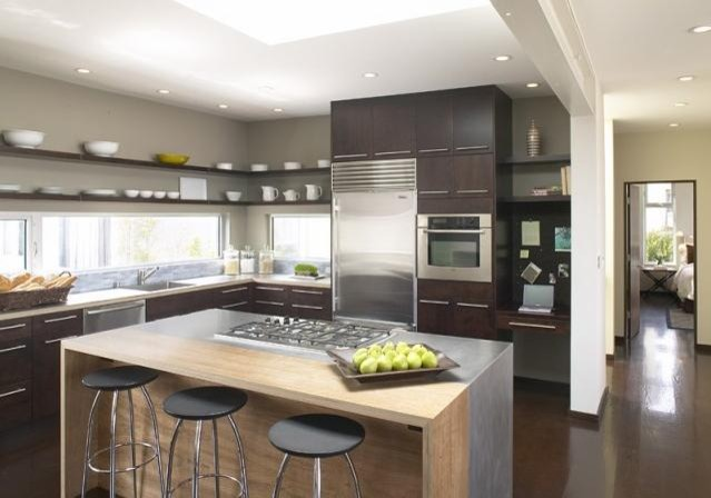 contemporary kitchen designs with island amazing contemporary kitchen island 916