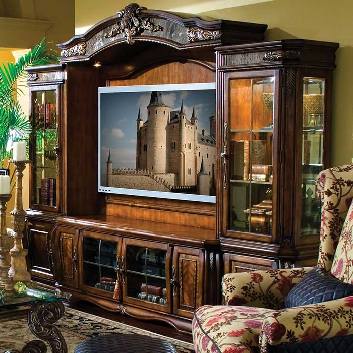 Victorian style Entertainment Wall