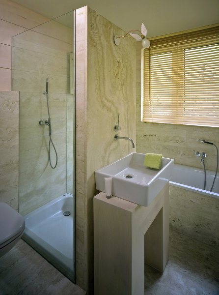 Trendy designs for the small bathroom - Small bathroom remodel with tub ...