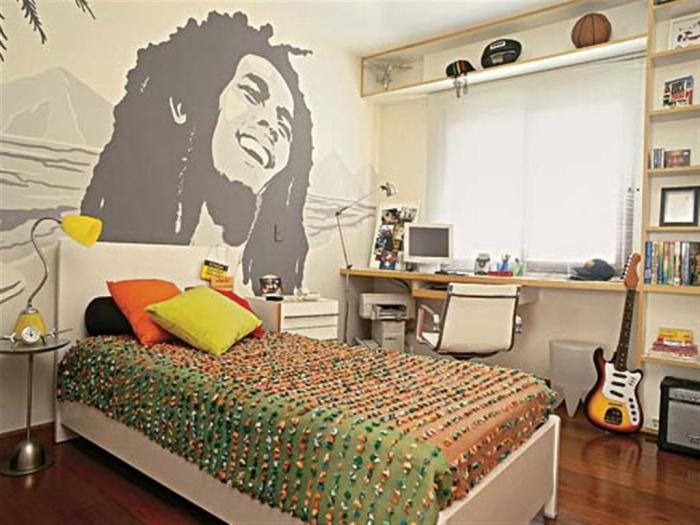 Bedroom ideas for teenage boys