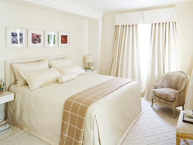 Mary Douglas Drysdale White Bedroom