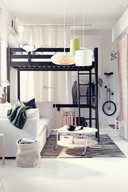 wonderful interior designs for the flat 15622 | 6 wonderful interior designs for the flat white ikea