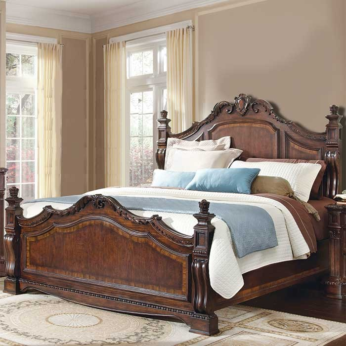 Victorian style bed design