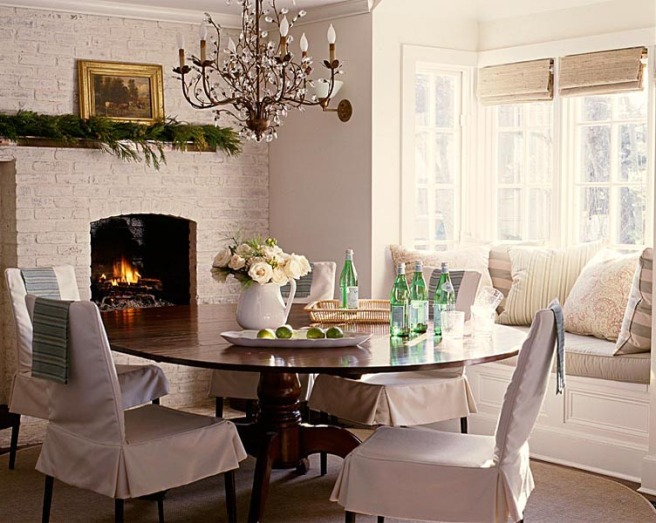 Dining Rooms With Bay Window Designing