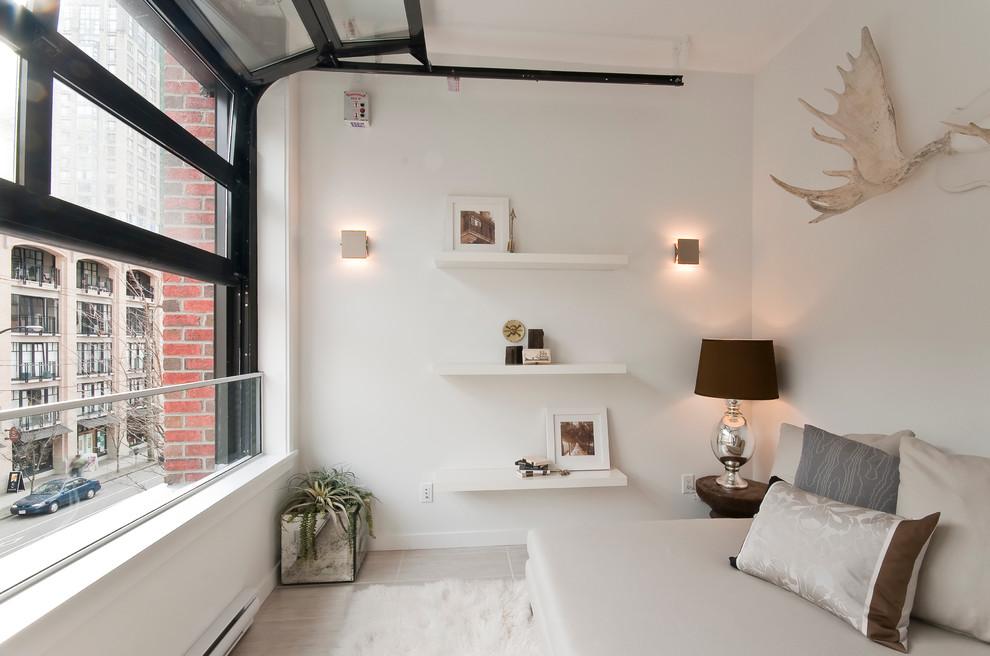 contemporary simple bedroom