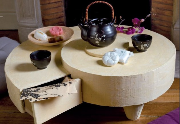 Custom made table for a small tea party