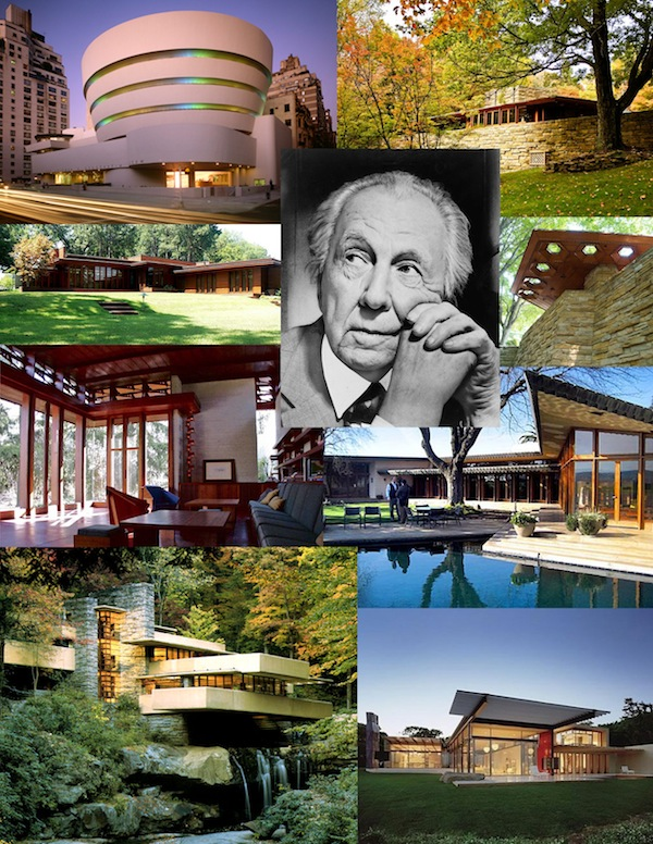 Frank Lloyd Wright is considered to be the greatest architect