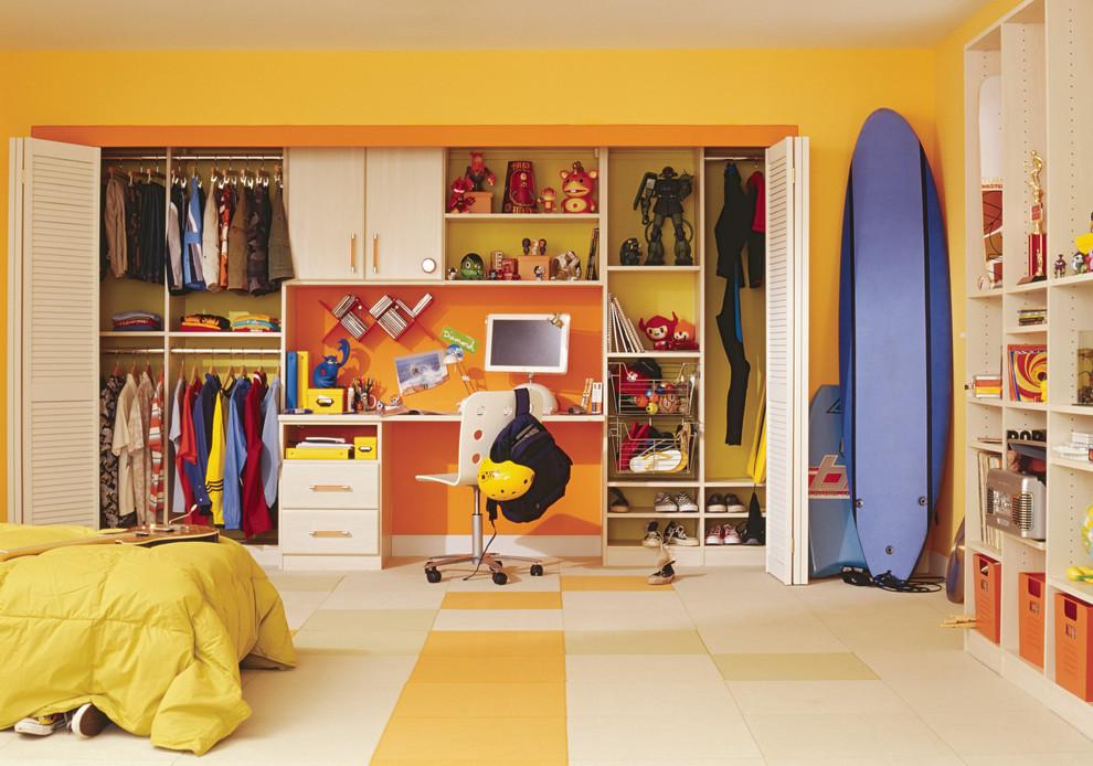 yellow boy bedroom