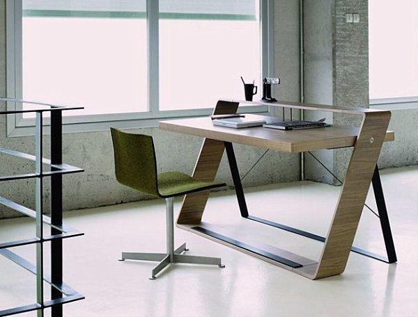 Walnut Office Desk