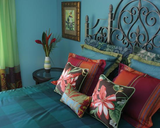 Mediterranean style bedroom