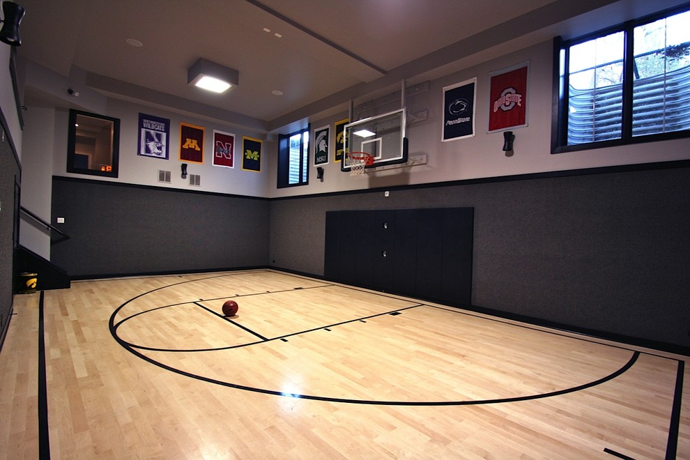Indoor Basketball Court Interior Design Ideas