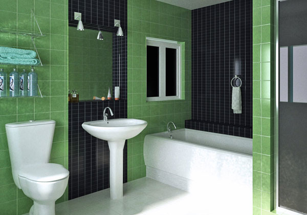 black white and green bathroom guidelines to renovate the bathroom 22781