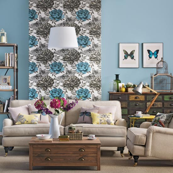 wallpaper living room feature wall wallpaper accent wall how to do it right interior 22863