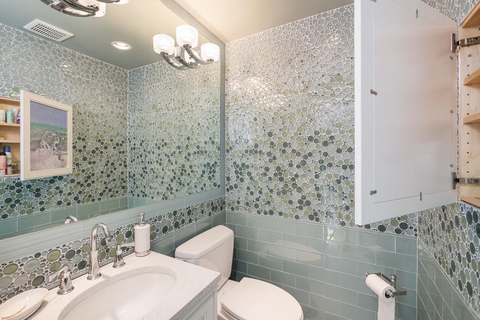 Bubble designed tiles