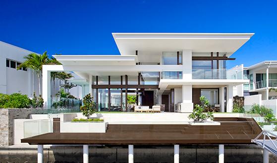Stunning house exterior